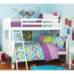 your zone twin over full bunk bed white walmart com