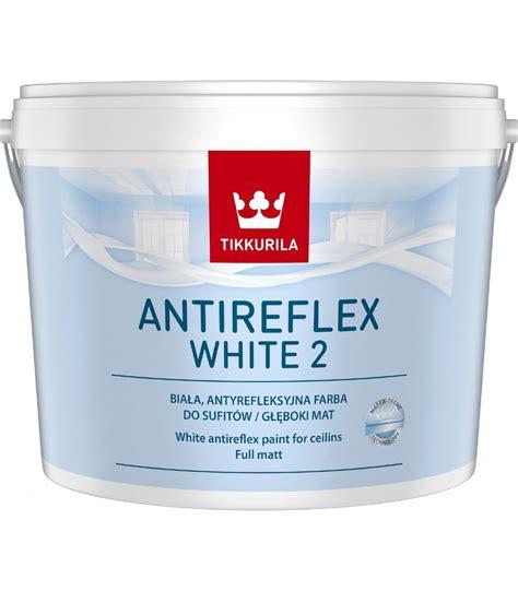Tikkurila Anti-Reflex White a high opacity super white, anti-reflective, matt emulsion for ...