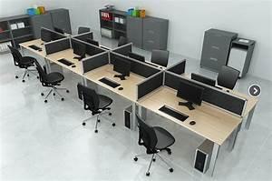 Mobilier Bureau Open Space Mobilier Bureau Moderne Design