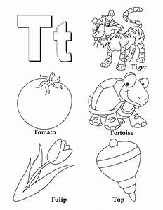 My A To Z Coloring Book Letter T Coloring Page Download Free My A To Z Coloring Book Letter T