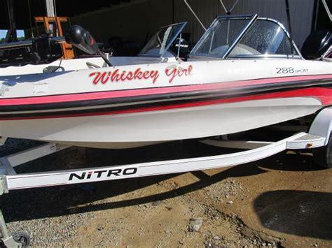 Nitro Bass Ski Boat by Used Nitro Ski And Fish Boats For Sale Boats