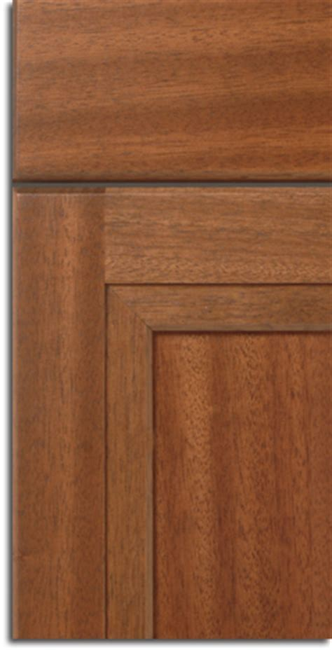 Mahogany Cabinet Doors for Craftsman Style Kitchen