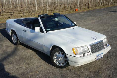 1995 mercedes e320 cabriolet for sale white blue low