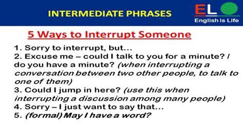 500 Real English Phrases Part2 ( Intermediate Phrases