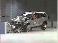 2001 2006 BMW X5 CRASH TEST YouTube