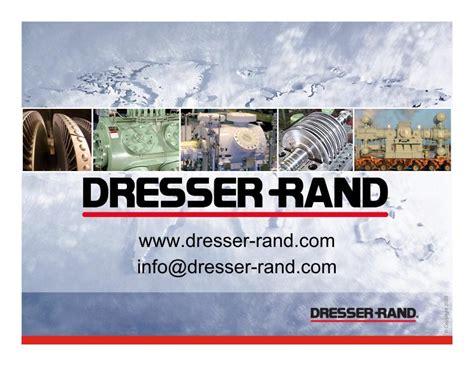 Dresser Rand Indonesia by Dresser Rand Compressor Parts Bestdressers 2017