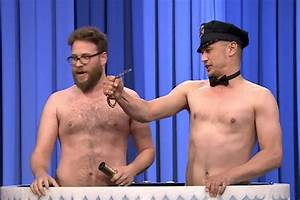 Jimmy Fallon Gets a Shirtless James Franco and Seth Rogen ...