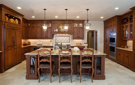 Country Kitchen With Island - kitchen designs by ken kelly kitchens long island ny custom kitchen and bath remodeling