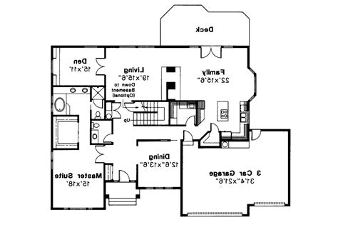 traditional floor plans traditional house plans berkley 10 032 associated designs