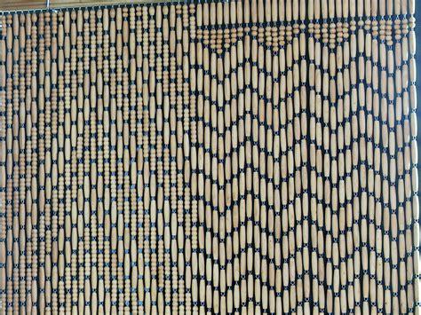 les rideaux en perles de buis de montfavet provence mag