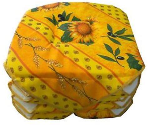 galette de chaise provencale galette de chaise tissu provencal