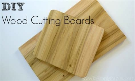 cooking  style diy cutting boards