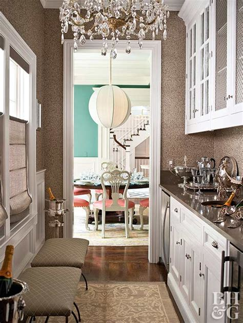 luxury house plans  butlers pantry