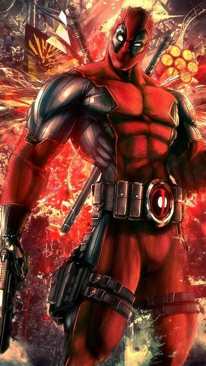 Deadpool Iphone Wallpapers Funny Marvel Cool Comic