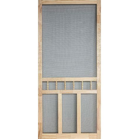 home depot wooden screen doors 30 in x 80 in wood classic screen door wcla30 the home