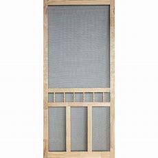36 In X 80 In Wood Classic Screen Doorwcla36  The Home