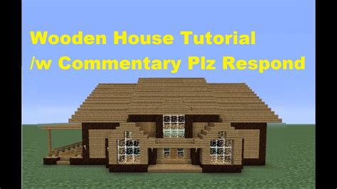 minecraft    build  wooden house house number  youtube