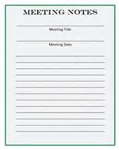 wedding invitation cards printable meeting notes forms