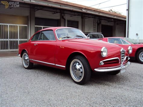 Alfa Romeo Giulietta For Sale by Classic 1956 Alfa Romeo Giulietta Sprint 1300 For Sale Dyler