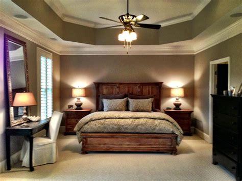 master suite  trey ceiling sitting area  elegant