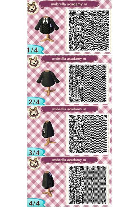 animal crossing  leaf qr code  male uniform
