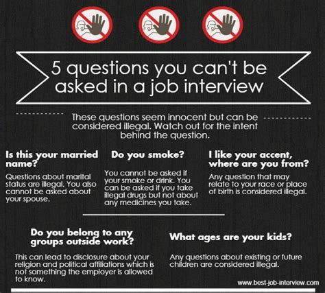 list of reasons for leaving a job illegal interview questions what can 39 t be asked