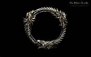 Ouroboros (Logo) Wallpaper Elder Scrolls Online Guides