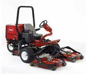 Toro Groundsmaster 2500d  3505d And 5500d Parts