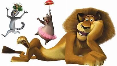 Madagascar Gloria Cartoon Umbrella Holding Animals Tv
