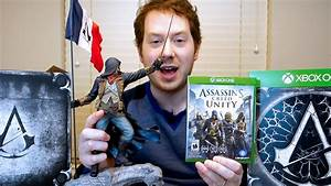 Assassin39s Creed Unity Collector39s Edition Unboxing And