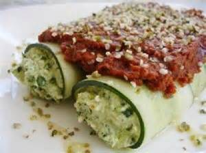 Raw Vegan Spinach Manicotti