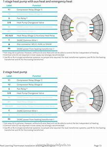 Common Thermostat Wiring Diagram Popular Nest Learning