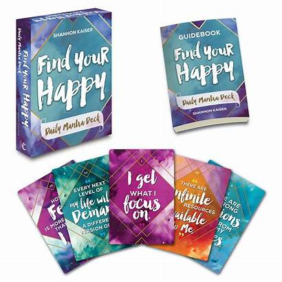 Mantra Happy Daily Deck Shannon Kaiser Gift