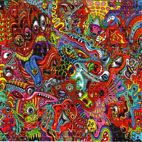wowza blotter art psychedelic perforated lsd acid art