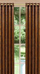 Bamboo Patio Curtains Outdoor by Bamboo Curtains With Grommets Rooms