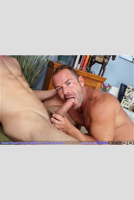 Mature lads Doug Jeffries and Brenn Wyson fucking at Suck A Boner