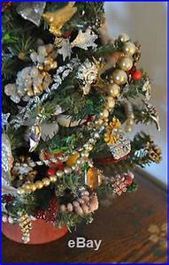 Unique Vintage Christmas Tree Lights Jewelry & Cherub