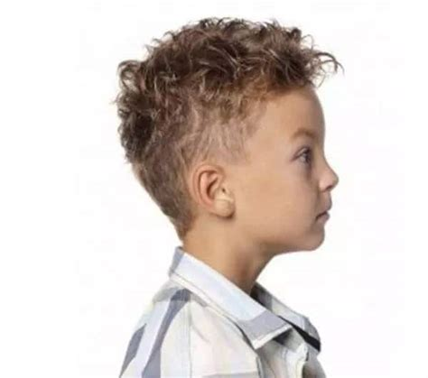 Hairstyles For Boys With Curly Hair by 10 Cool Smart Curly Haircuts For Boys Cool