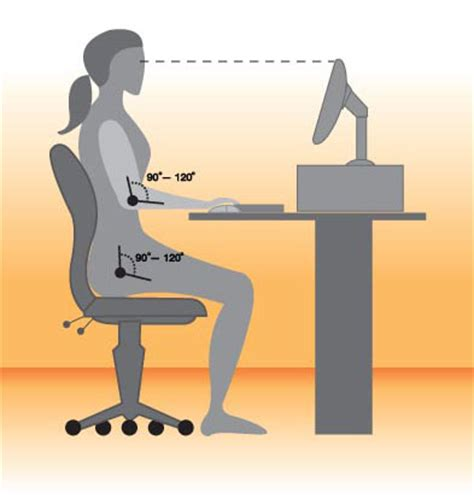 best way to sit at desk sitting 101 desk ergonomics popsugar fitness