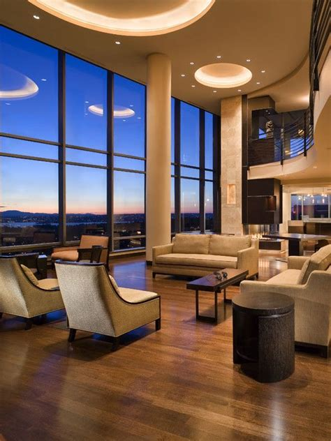 Contemporary Hotel Lobby Design With Cool Cotemporary