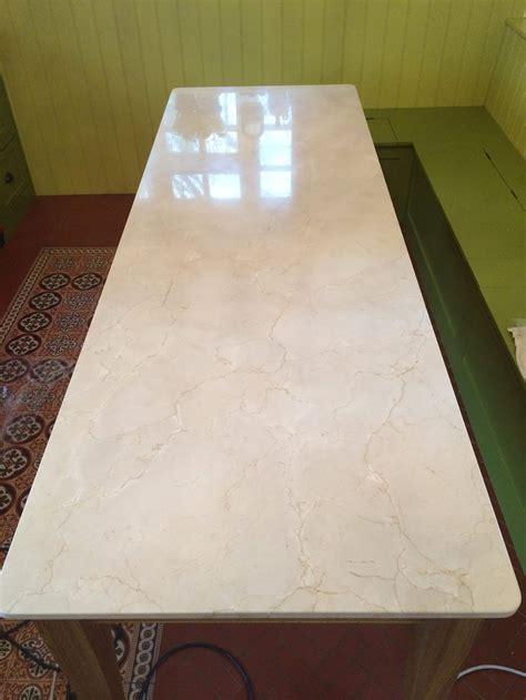 marble kitchen worktop dining table restoration