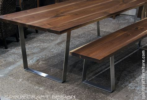 walnut dining bench request need help with metal legs for wood bench and 3338