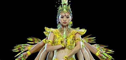 Dance Thai Gifs Traditional Dancers Asian Costume