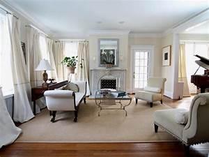 Glamorous, White, Living, Room