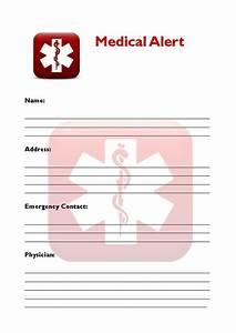 quotchapel flockquot comfort cards With medical alert wallet card template
