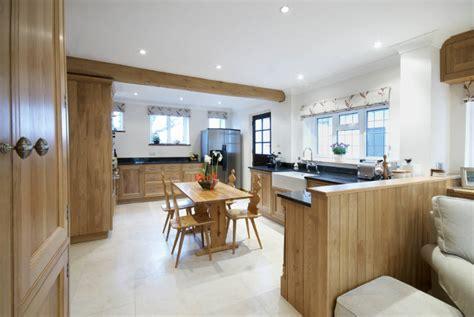 oak kitchen woodwork kitchens handmade furniture