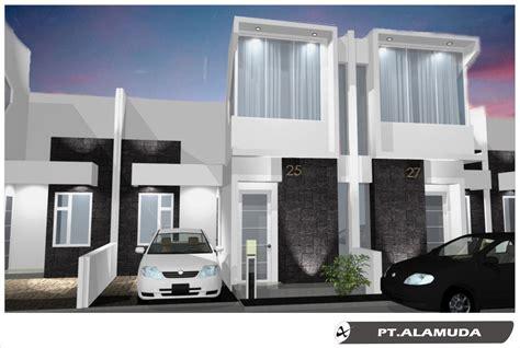 desain rumah cluster  lantai rumah desain minimalis