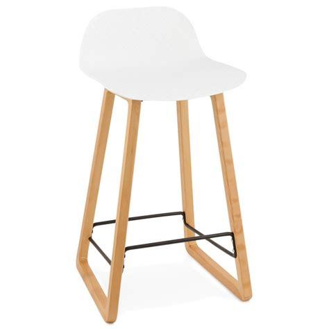 hauteur chaise de bar tabouret de bar chaise de bar mi hauteur scandinave mini blanc