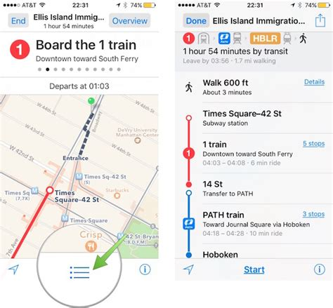 how to set maps as default on iphone how to use transit directions in maps in ios 9 in easy way