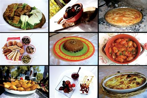 traditional cuisine of traditional albanian food collage enjoy albanian